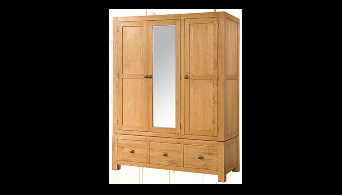 3 Door Combination Wardrobe