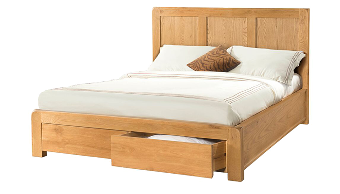 Kingsize Bedstead with 2 Drawers
