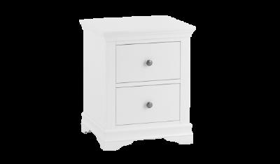 SW LBSC W 2 Drawer Bedside