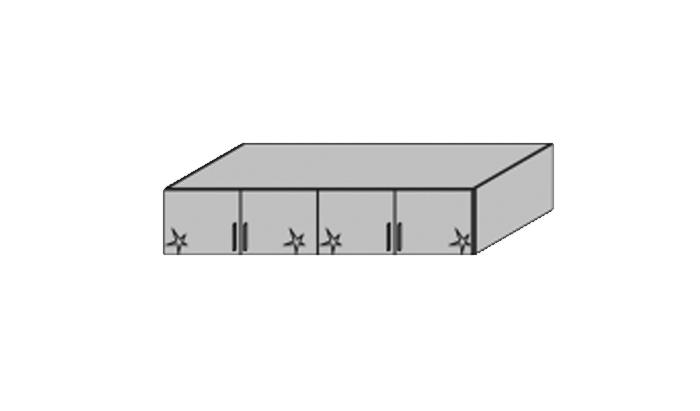 4 Door Top Box