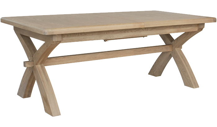 2m Cross Leg Dining Table
