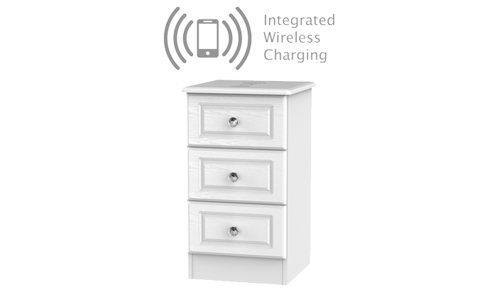 3 drawer Locker with Wireless Charg