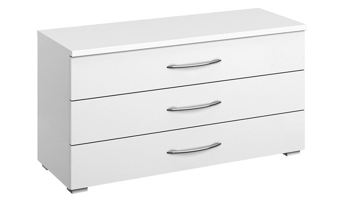 3 Drawer Low Wide Chest