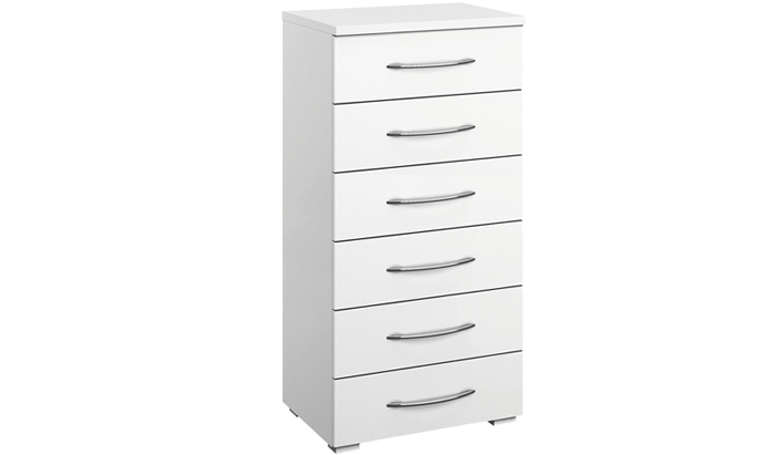 6 Drawer Narrow Chest