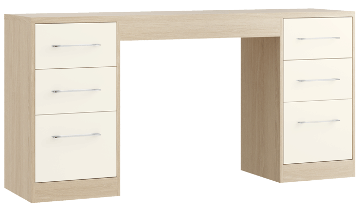 Double Dressing Table
