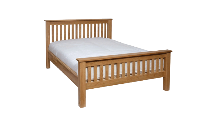 Double High Foot End Bedstead