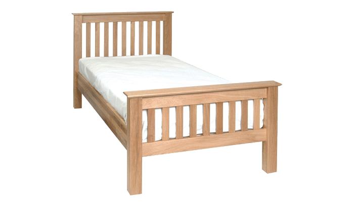 Single High Foot End Bedstead