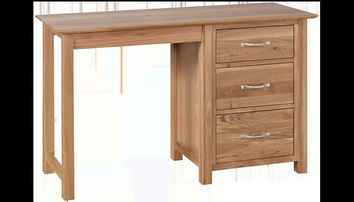 Single Pedestal Dressing Table