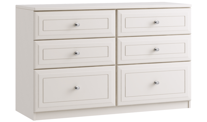 6 Drawer Twin Chest
