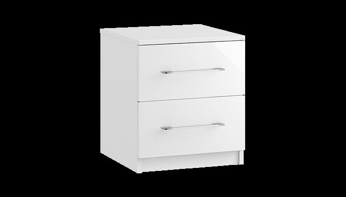 2 Drawer Bedside Chest
