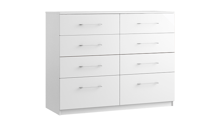 8 Drawer Twin Chest