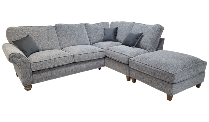 Large Chaise Corner High Back