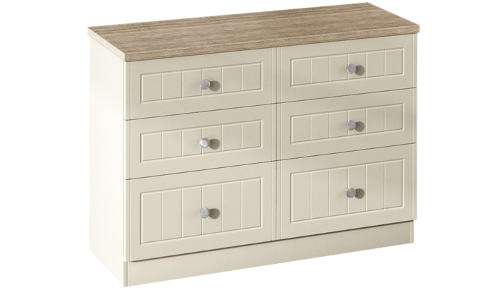 6 Drawer Midi Chest